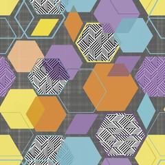Велюр Geometry multi (Геометри мульти)