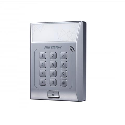 Терминал доступа со встроенными считывателем Mifare Hikvision DS-K1T801M