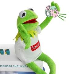 Маппет шоу игрушка мягкий Кермит в футболке