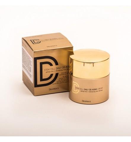 Deoproce Stem Cell Daily De-Aging Cream Spf50+ Pa+++ Крем DD маскирующий 23