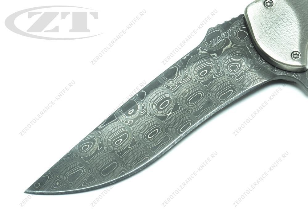 Нож RJ Martin Q36 Damascus - фотография