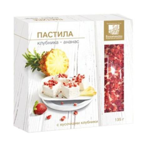 Пастила клубника-ананас, 135г