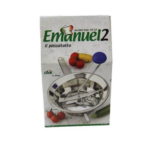 Машинка для протирки Emanuel 2 (20 см, 3 тёрки)