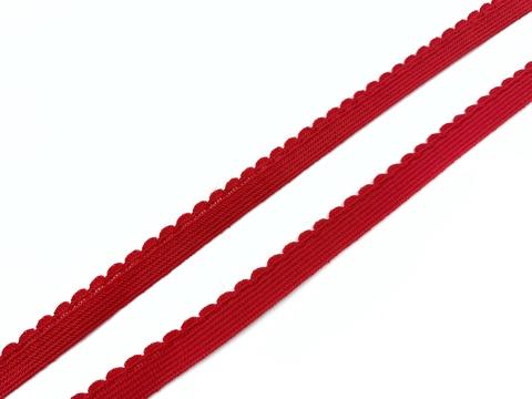Резинка отделочная красная 9 мм (цв. 100)