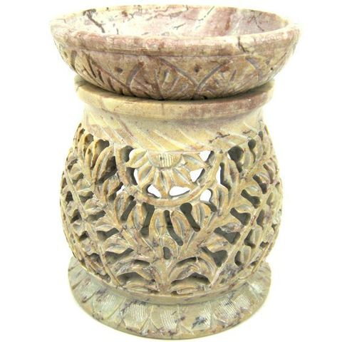 Аромалампа Stone камень c  чашей, 11 см