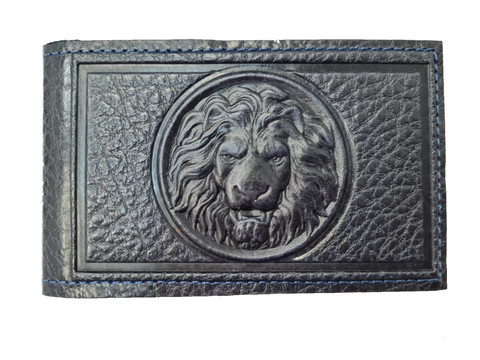 Визитница карманная «Royal». Цвет синий