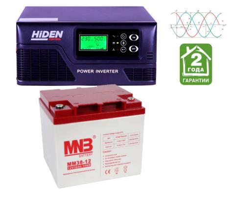 Комплект ИБП HPS20-0812-АКБ MM38 (12в, 800Вт)