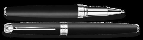 Carandache Leman - Black Matte SP, ручка-роллер, F