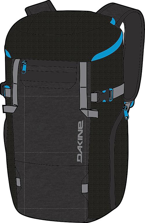 Горнолыжные рюкзаки Рюкзак для ботинок Dakine TRANSFER DLX BOOT PACK 35L TABOR 2017W-08300310-TRANSFERDLXBOOTPACK-TABOR-DAKINE.jpg