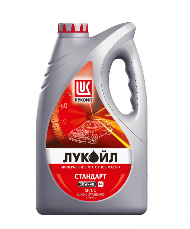 Лукойл Стандарт 10W40 SF/CC - Минеральное моторное масло