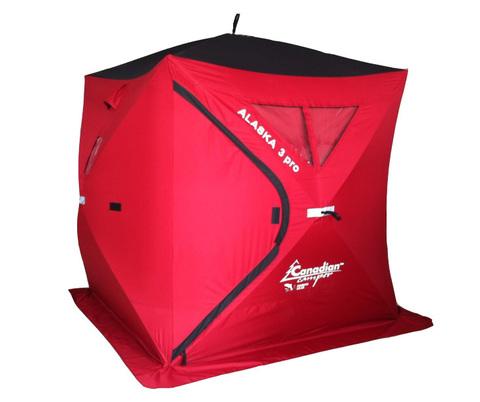 Палатка для зимней рыбалки Canadian Camper Alaska 3 PRO