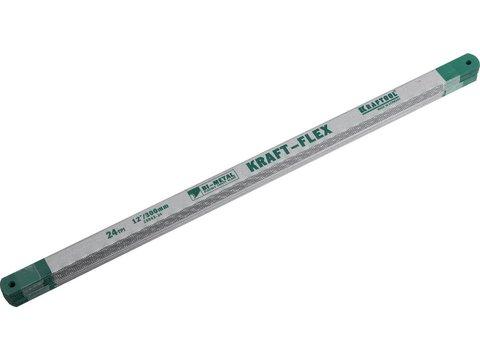Полотно Alligator-24 по металлу, KRAFTOOL 15942-24-S50, Bi-Metal, 24TPI, 300 мм, 50 шт