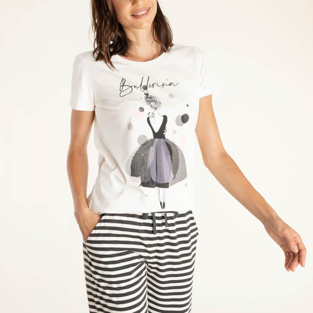 Женская футболка E21K-82M101