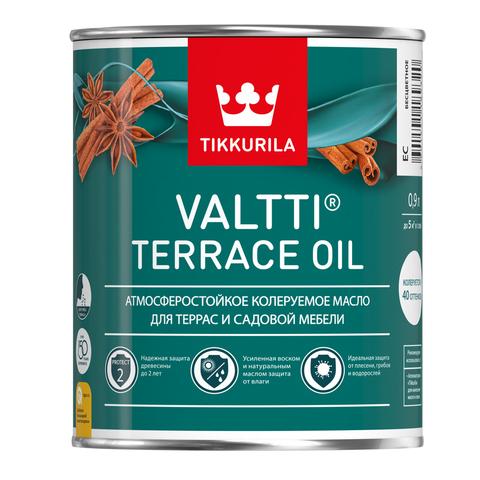 Tikkurila Valtti Terrace Oil / Тиккурила Валтти Террас Ойл колеруемое масло для террас и садовой мебели