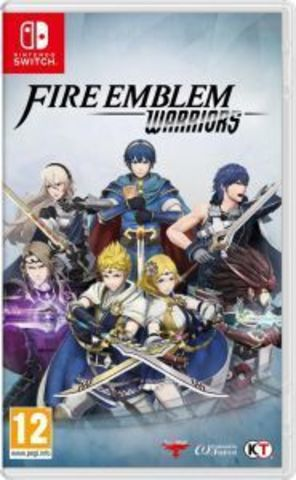Fire Emblem Warriors (Nintendo Switch, английская версия)