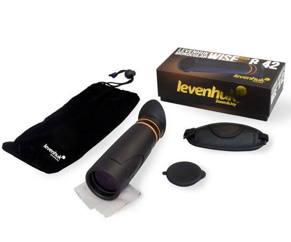 Комплект монокуляра Levenhuk Wise Plus