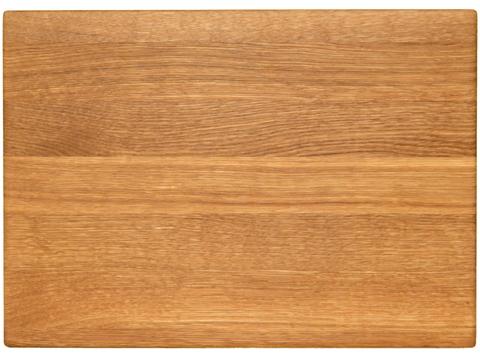 деревянная Разделочная доска дуб 35x25x2 см.