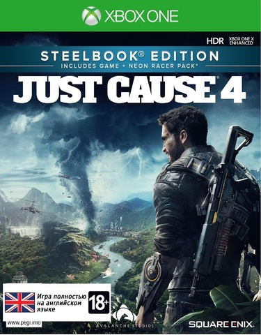 Just Cause 4 Steelbook издание (Xbox One/Series X, английская версия)