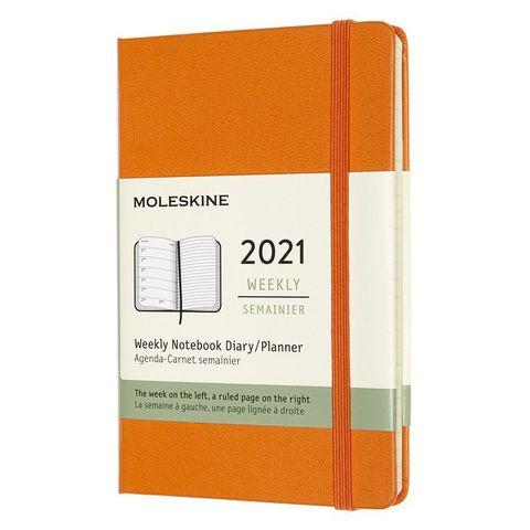 Еженедельник Moleskine Classic WKNT Pocket 90x140мм 144стр. оранжевый