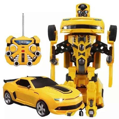 Радиоуправляемый робот-трансформер Бамблби
