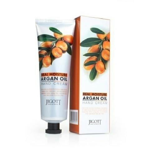 Крем для рук с аргановым маслом Jigott Real moisture argan oil