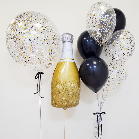 Сет с шампанским
