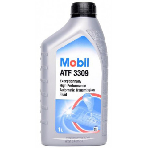 Купить на сайте Ht-oil.ru официальный дилер MOBIL ATF 3309 минеральное трансмиссионное масло для АКПП артикул 153519 (1 Литр)