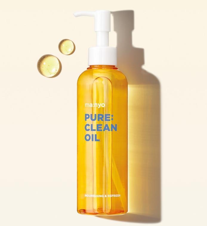 Очищение Гидрофильное масло для глубокого очищения кожи Manyo Pure Cleansing Oil manyo-PURE-CLEAN-OIL_1200x1200.jpg
