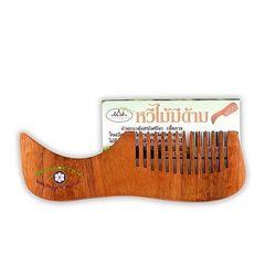 Деревянная расческа для массажа гу-аша (бук)