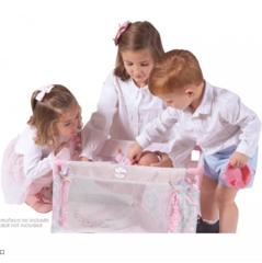 DeCuevas Манеж-кроватка для куклы серии Фантазия океана, 50 см (50041)