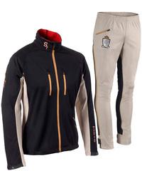 Элитный женский костюм для лыж и зимнего бега Stoneham Soft Shell WO'S