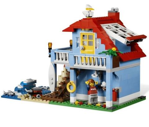 LEGO Creator: Дом на морском побережье 7346 — Seaside House — Лего Креатор Создатель