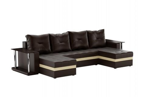 Угловой П-образный диван