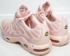 Нежно розовые кроссовки Nike Air Max TN Plus
