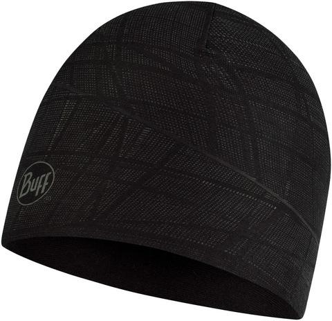 Двухслойная полиэстровая шапка Buff Hat reversible polyester Embers Black фото 1