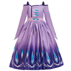 Фиолетовое платье Эльзы из м/ф