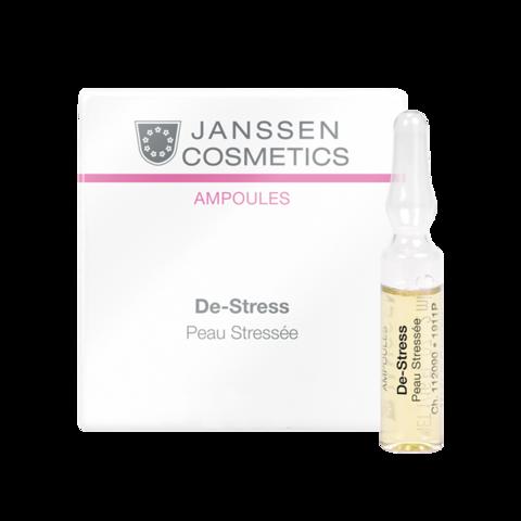 JANSSEN COSMETICS Ампулы антистресс (чувствительная кожа) | De-Stress (sensitive skin) 7х2 ml