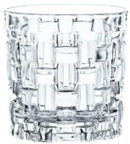 BOSSA NOVA - Набор стаканов 4 шт. для виски 292 мл стекло (set 4 pcs)
