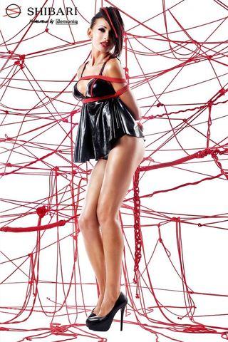 Беби-долл Tsuki с открытой спиной и верёвками для связывания