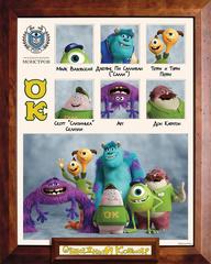 Monsters University Mini Bean OK Plush