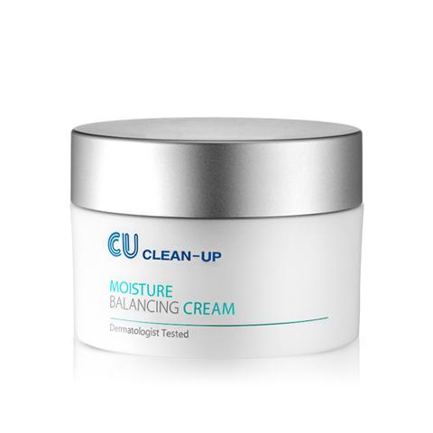 Купить CU SKIN CLEAN-UP Moisture Balancing Cream Ультра-увлажняющий крем с керамидами, олигопептидом и бета-глюканом