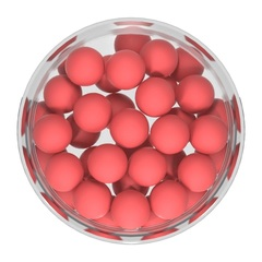 Бойлы насад. плав. Sonik Baits CRENBERRY-SHRIMP Fluo Pop-ups 11мм 50мл