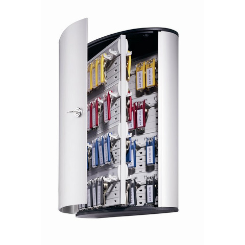 Шкаф для ключей Durable 1955-23 серый (на 72 ключей, алюминий)