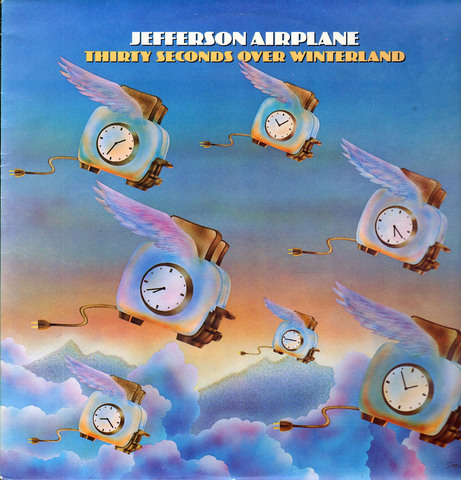 Виниловая пластинка. Jefferson Airplane - Thirty Seconds Over Winterland