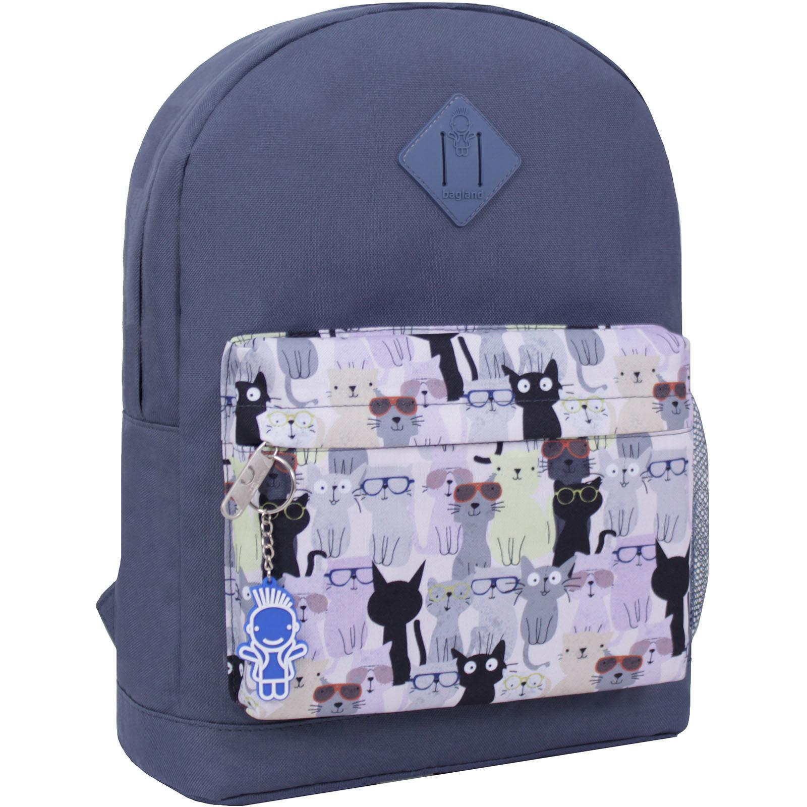 Городские рюкзаки Рюкзак Bagland Молодежный W/R 17 л. серый 473 (00533662) IMG_2472_суб.473_.JPG