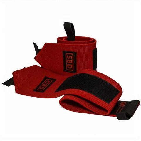 купить кистевые бинты sbd повышенной жесткости 60 см 1 м красные