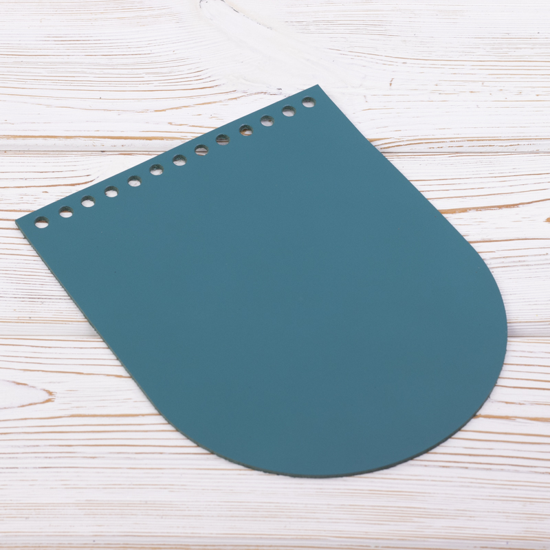 """Вся фурнитура Клапан для сумочки кожаный """"Изумруд"""" 19,5 см на 15,5см IMG_7152.jpg"""