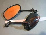 Зеркала Чёрные Yamaha XJR 400 XJR 1200 XJR 1300 V-MAX 1200