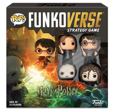 Настольная Игра Funkoverse Strategy Game: Harry Potter 100 Base Set