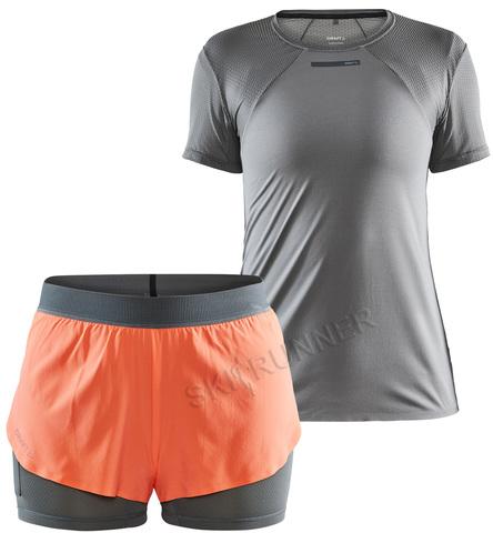 Премиальный женский комплект футболка + шорты Craft Vent Mesh Racing